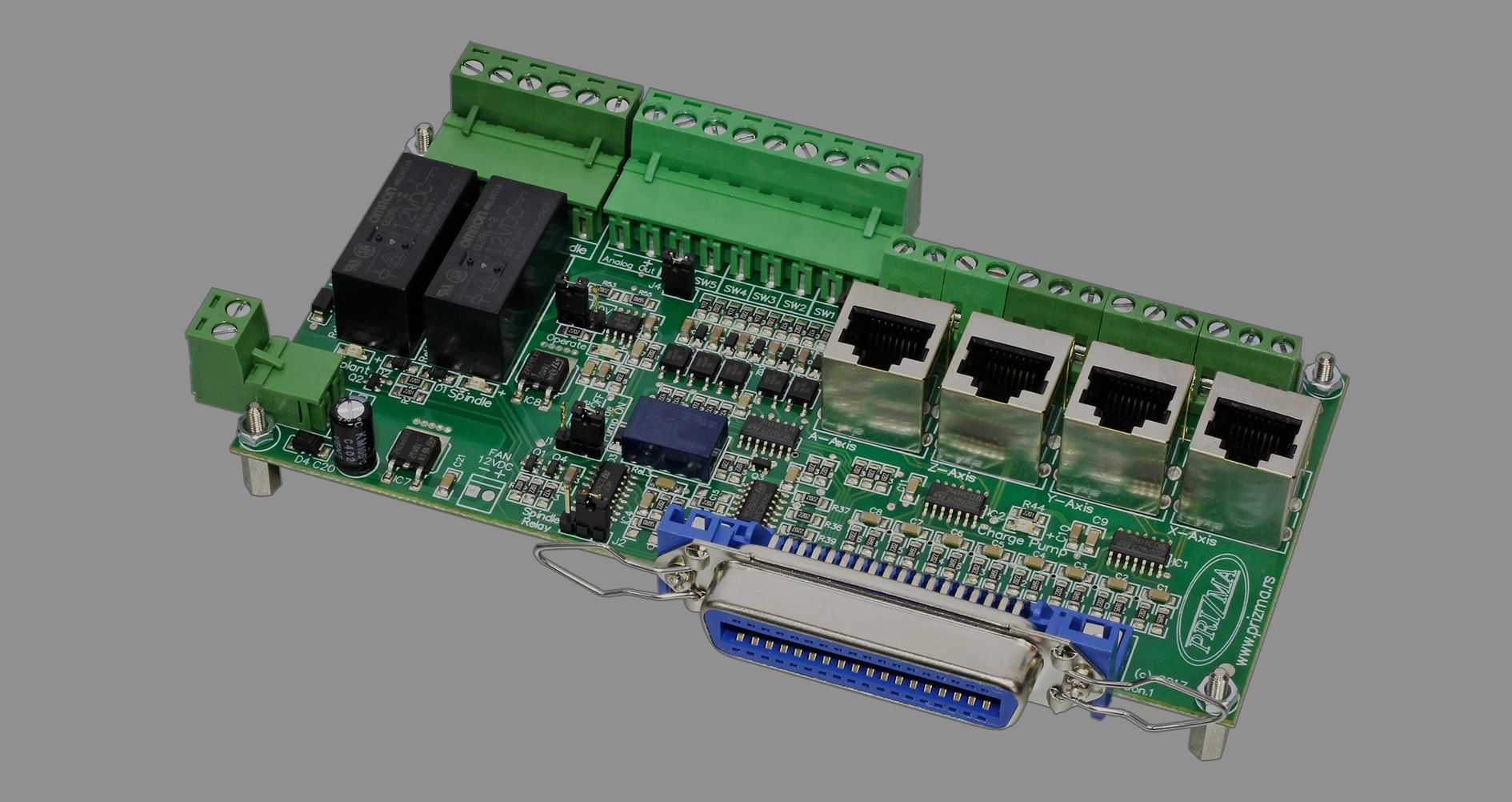 MOTION CONTROLLERS AND BREAKOUT BOARDS